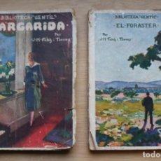 Libros antiguos: 2 NOVELAS EN CATALAN. Lote 154984698