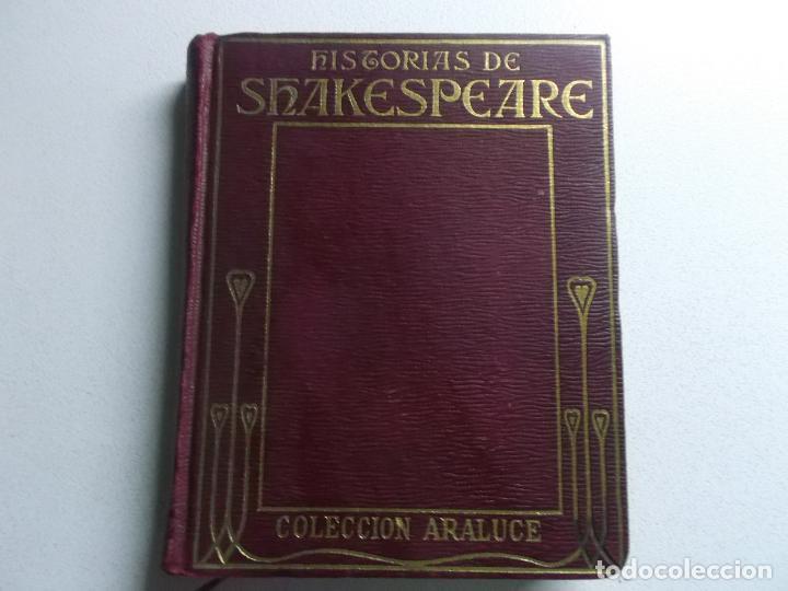 HISTORIAS DE SHAKESPEARE COLECCION ARALUCE 1927 (Libros Antiguos, Raros y Curiosos - Literatura Infantil y Juvenil - Otros)