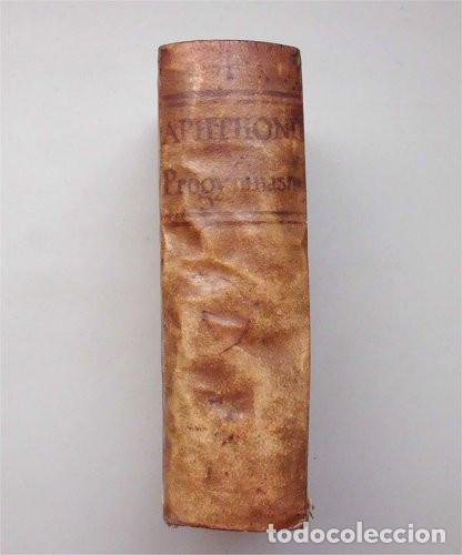 APHTHONII SOPHISTAE PROGYMNASMATA. RODOLPHO AGRICOLA - IOANNE MARIA CATANAEO. LYON 1649 (Libros Antiguos, Raros y Curiosos - Pensamiento - Otros)