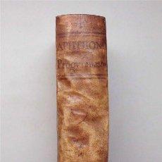 Libri antichi: APHTHONII SOPHISTAE PROGYMNASMATA. RODOLPHO AGRICOLA - IOANNE MARIA CATANAEO. LYON 1649. Lote 155030214