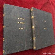 Libros antiguos: ARTE DE APAREJAR Y MANIOBRAS DE LOS BUQUES 2 TOMOS. DARCY LEVER. MADRID 1859.. Lote 132934286