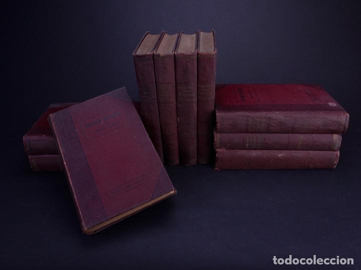 Libros antiguos: CESAR CANTÚ. HISTORIA UNIVERSAL. TOMOS DEL 1 AL 10. BARCELONA 1901 - Foto 3 - 155089654