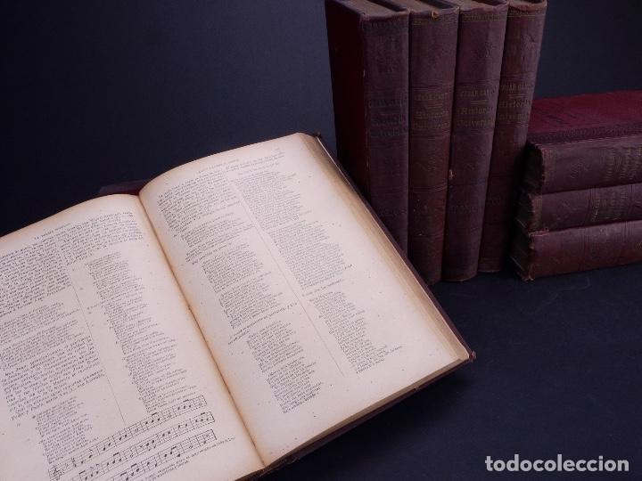 Libros antiguos: CESAR CANTÚ. HISTORIA UNIVERSAL. TOMOS DEL 1 AL 10. BARCELONA 1901 - Foto 4 - 155089654