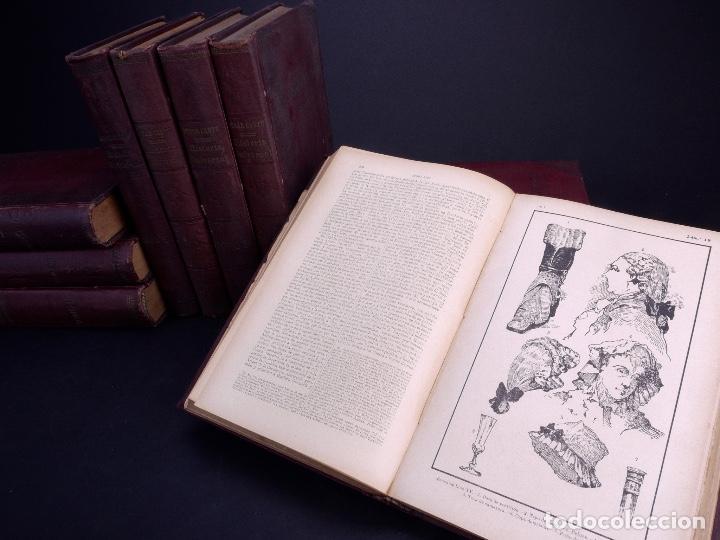 Libros antiguos: CESAR CANTÚ. HISTORIA UNIVERSAL. TOMOS DEL 1 AL 10. BARCELONA 1901 - Foto 5 - 155089654