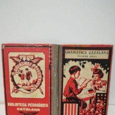 Libros antiguos: GRAMATICA CATALANA. Lote 155101494