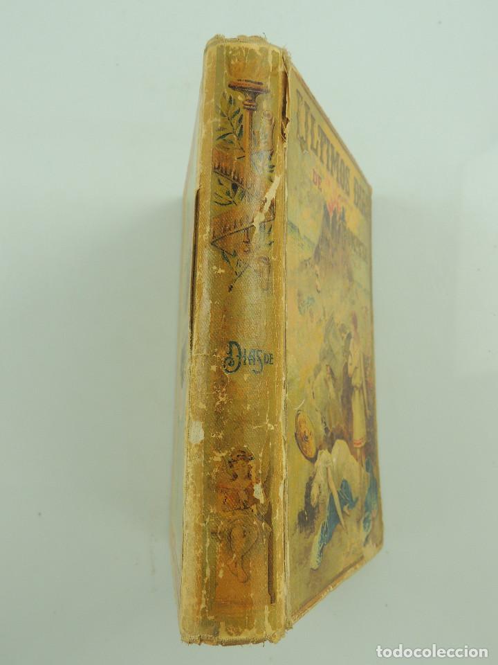 Alte Bücher: LOS ULTIMOS DIAS DE POMPEYA POR EDWARD GEORGE BULWER LYTTON EDITORIAL SATURNINO CALLEJA FERNANDEZ - Foto 4 - 155138150