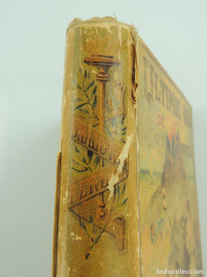 Alte Bücher: LOS ULTIMOS DIAS DE POMPEYA POR EDWARD GEORGE BULWER LYTTON EDITORIAL SATURNINO CALLEJA FERNANDEZ - Foto 6 - 155138150