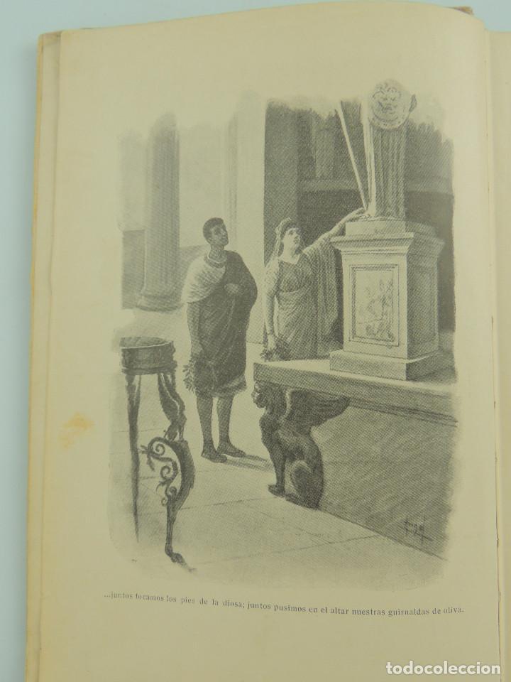 Alte Bücher: LOS ULTIMOS DIAS DE POMPEYA POR EDWARD GEORGE BULWER LYTTON EDITORIAL SATURNINO CALLEJA FERNANDEZ - Foto 8 - 155138150