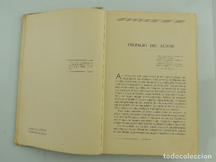 Alte Bücher: LOS ULTIMOS DIAS DE POMPEYA POR EDWARD GEORGE BULWER LYTTON EDITORIAL SATURNINO CALLEJA FERNANDEZ - Foto 13 - 155138150