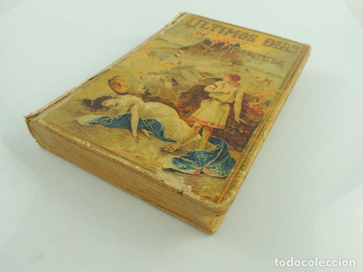 Alte Bücher: LOS ULTIMOS DIAS DE POMPEYA POR EDWARD GEORGE BULWER LYTTON EDITORIAL SATURNINO CALLEJA FERNANDEZ - Foto 14 - 155138150