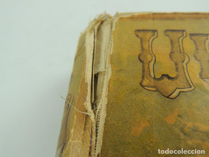 Alte Bücher: LOS ULTIMOS DIAS DE POMPEYA POR EDWARD GEORGE BULWER LYTTON EDITORIAL SATURNINO CALLEJA FERNANDEZ - Foto 16 - 155138150