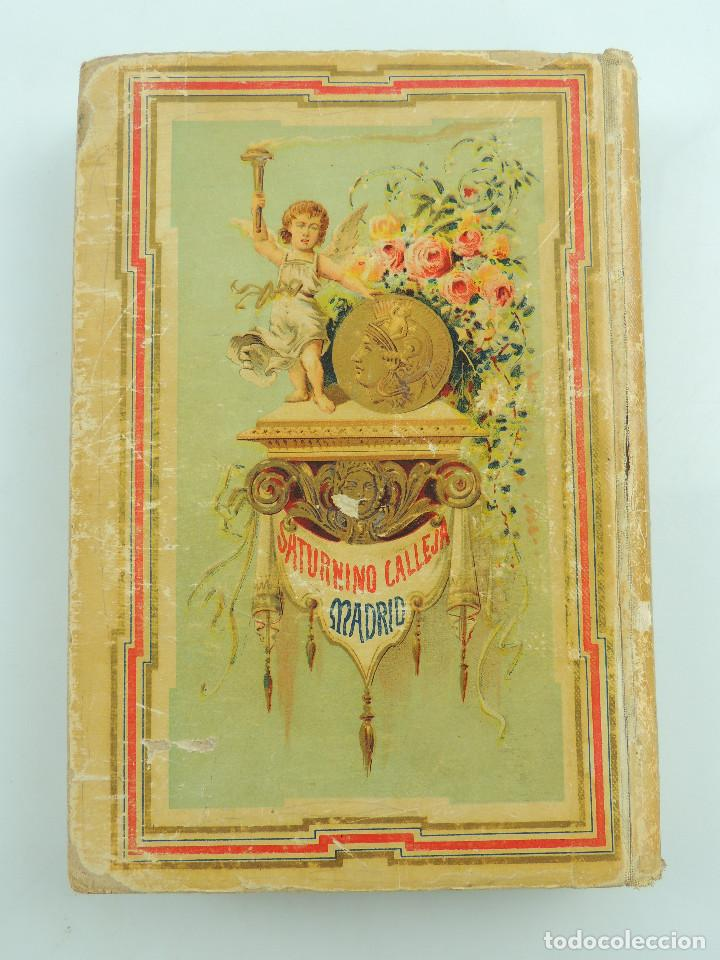Alte Bücher: LOS ULTIMOS DIAS DE POMPEYA POR EDWARD GEORGE BULWER LYTTON EDITORIAL SATURNINO CALLEJA FERNANDEZ - Foto 17 - 155138150
