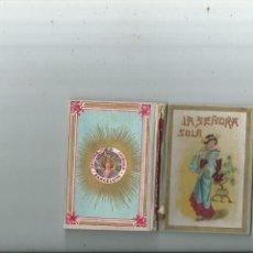 Libros antiguos: LUIS F. OBIOLS - LA SEÑORA SOLA - BARCELONA ANTONIO CHIQUÉS EDITOR. Lote 155165118