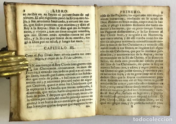 Alte Bücher: HISTORIA DEL EMPERADOR CARLO MAGNO, en la qual se trata de las grandes Proezas, y hazañas de los Doz - Foto 2 - 155232954