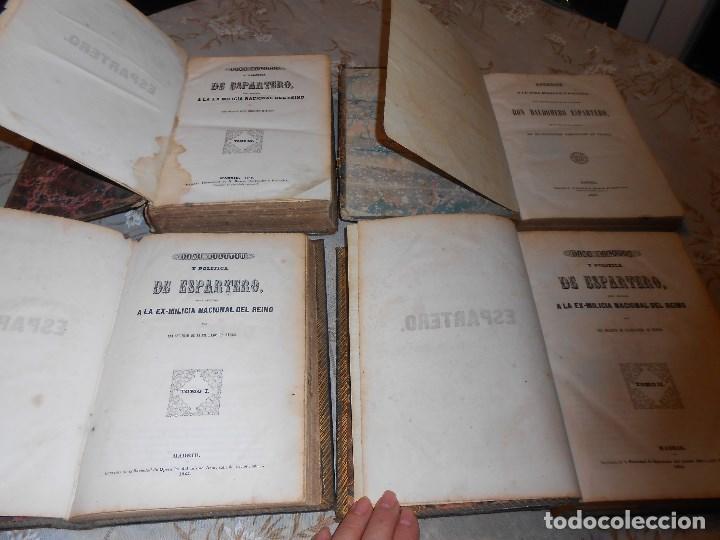 Libros antiguos: vida militar y política de espartero. Año 1844 3 tomos más apéndice. - Foto 4 - 155245210