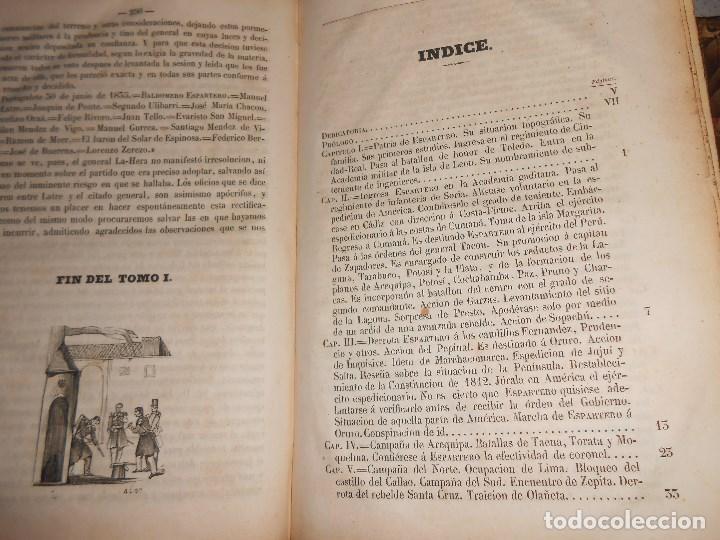 Libros antiguos: vida militar y política de espartero. Año 1844 3 tomos más apéndice. - Foto 11 - 155245210