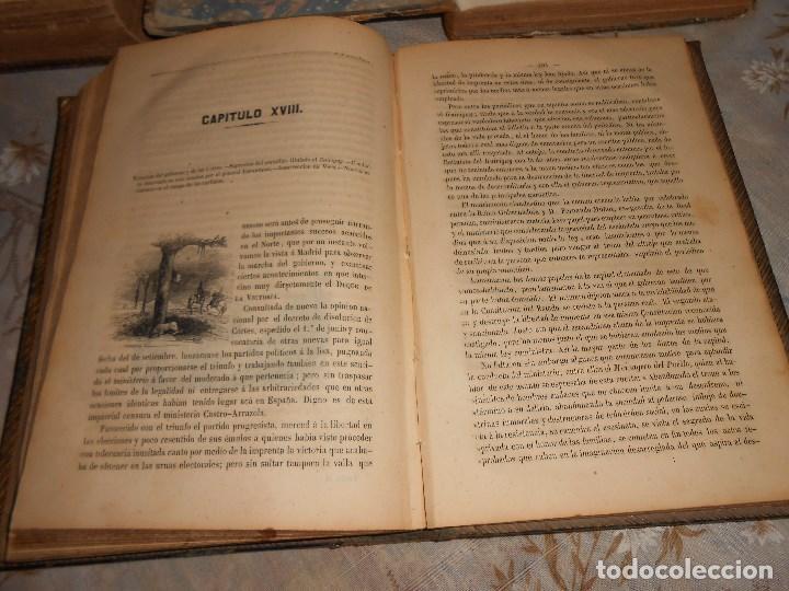 Libros antiguos: vida militar y política de espartero. Año 1844 3 tomos más apéndice. - Foto 12 - 155245210