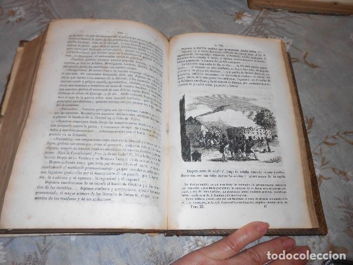 Libros antiguos: vida militar y política de espartero. Año 1844 3 tomos más apéndice. - Foto 14 - 155245210
