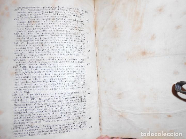 Libros antiguos: vida militar y política de espartero. Año 1844 3 tomos más apéndice. - Foto 16 - 155245210
