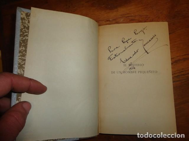 Libros antiguos: El misterio del hombre pequeñito. Novela - ZAMACOIS, EDUARDO - Foto 4 - 155250118