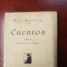 Libros antiguos: CUENTOS - PIO BAROJA - 1919 - TOMO II - RAFAEL CARO RAGGIO. Lote 155356476