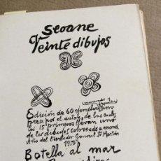 Libros antiguos: SEONE 20 DIBUJOS. Lote 155414802