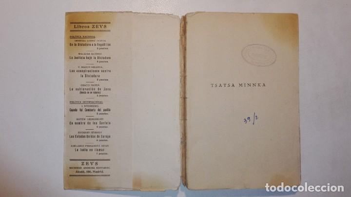 Libros antiguos: PANAIT ISTRATI - TSATSA MINNKA - ZEUS EDITORIAL / MADRID 1931 II REPÚBLICA ESPAÑOLA - Foto 4 - 155421438