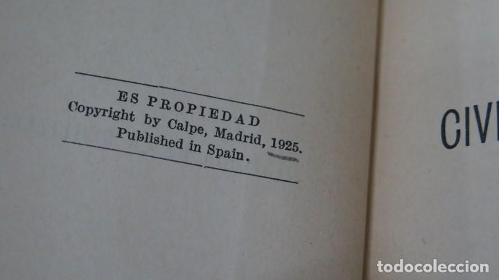 Libros antiguos: 1925.- Historia de la Civilización Española. Rafael Altamira - Foto 3 - 155512274