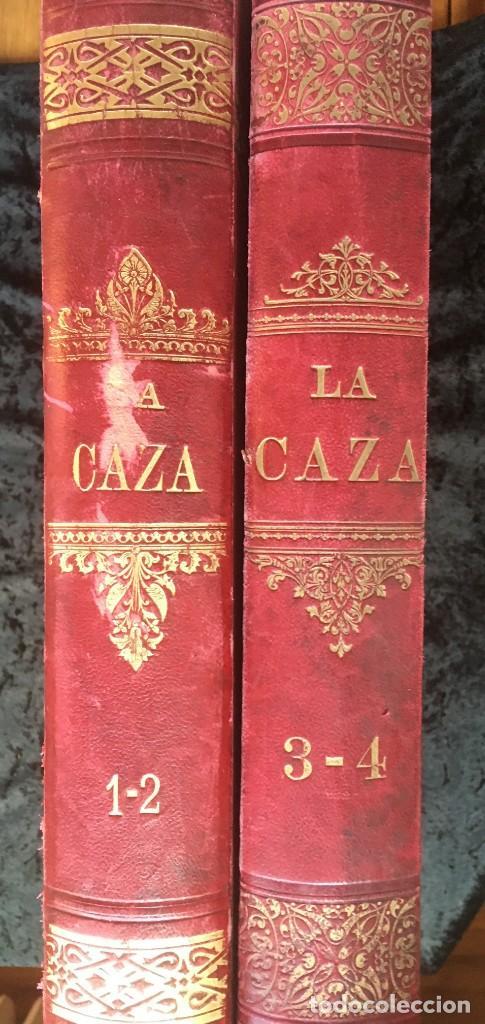LA CAZA EN TODOS LOS PAISES Y A TRAVES DE LOS SIGLOS - CAMPWELL - 1886 - MUY ILUSTRADO - 4 TOMOS (Libros Antiguos, Raros y Curiosos - Bellas artes, ocio y coleccionismo - Otros)