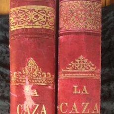 Libros antiguos: LA CAZA EN TODOS LOS PAISES Y A TRAVES DE LOS SIGLOS - CAMPWELL - 1886 - MUY ILUSTRADO - 4 TOMOS. Lote 155512942