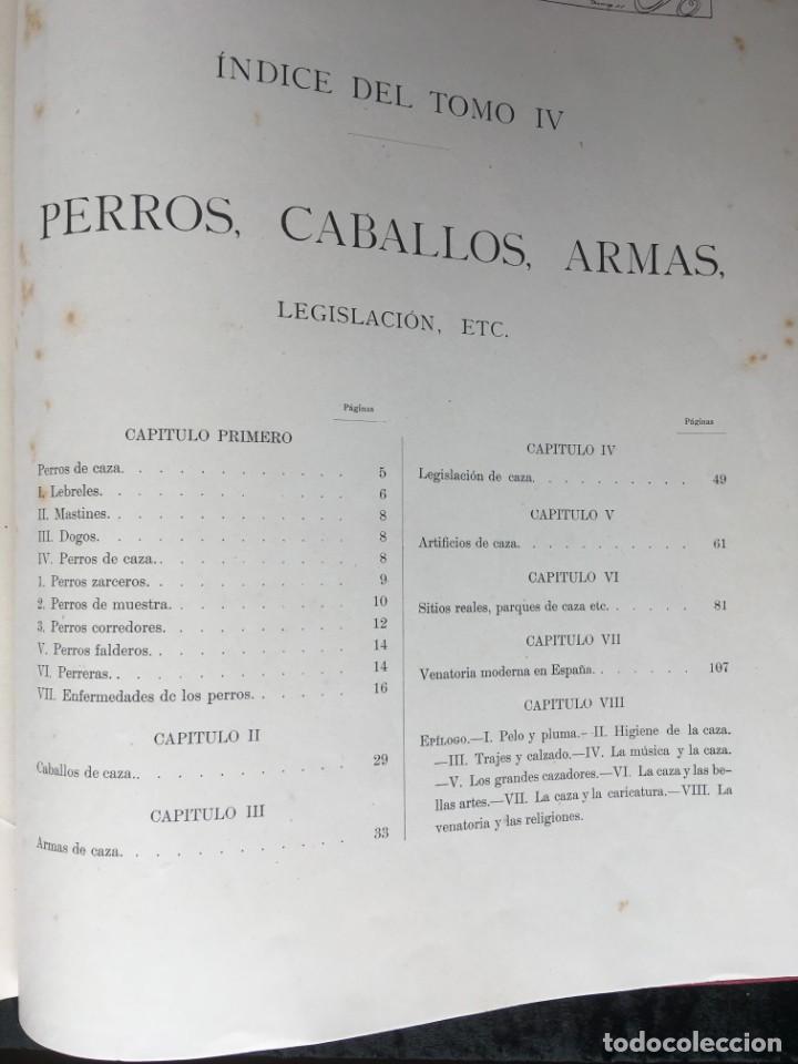 Libros antiguos: LA CAZA EN TODOS LOS PAISES Y A TRAVES DE LOS SIGLOS - CAMPWELL - 1886 - MUY ILUSTRADO - 4 TOMOS - Foto 5 - 155512942