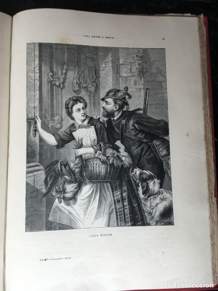 Libros antiguos: LA CAZA EN TODOS LOS PAISES Y A TRAVES DE LOS SIGLOS - CAMPWELL - 1886 - MUY ILUSTRADO - 4 TOMOS - Foto 8 - 155512942