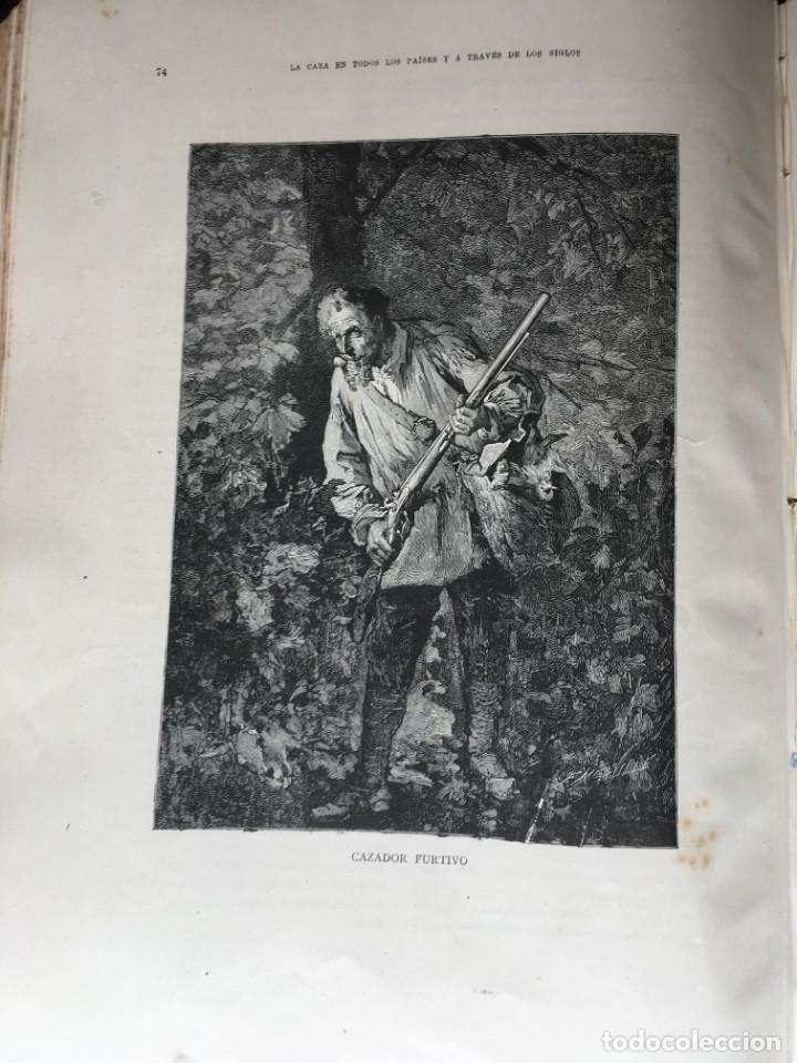 Libros antiguos: LA CAZA EN TODOS LOS PAISES Y A TRAVES DE LOS SIGLOS - CAMPWELL - 1886 - MUY ILUSTRADO - 4 TOMOS - Foto 10 - 155512942