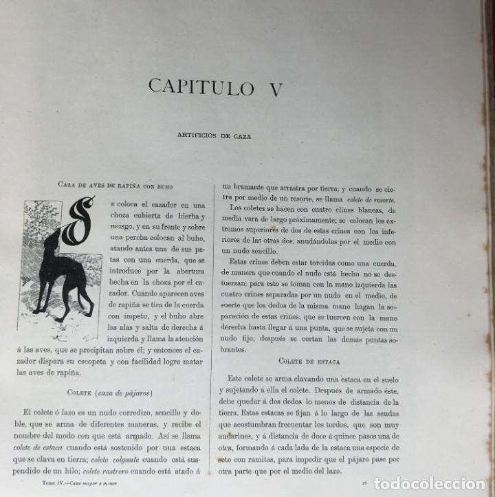 Libros antiguos: LA CAZA EN TODOS LOS PAISES Y A TRAVES DE LOS SIGLOS - CAMPWELL - 1886 - MUY ILUSTRADO - 4 TOMOS - Foto 11 - 155512942