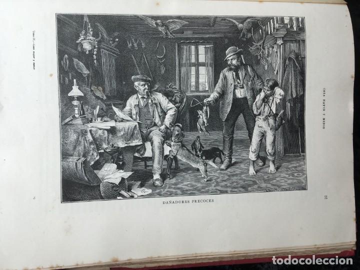 Libros antiguos: LA CAZA EN TODOS LOS PAISES Y A TRAVES DE LOS SIGLOS - CAMPWELL - 1886 - MUY ILUSTRADO - 4 TOMOS - Foto 13 - 155512942