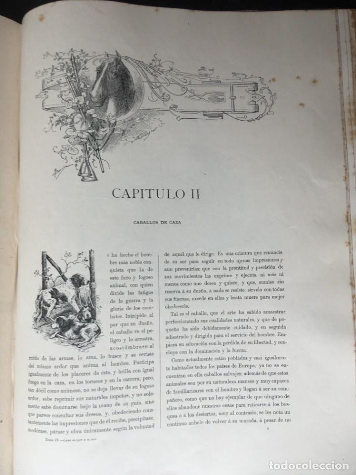 Libros antiguos: LA CAZA EN TODOS LOS PAISES Y A TRAVES DE LOS SIGLOS - CAMPWELL - 1886 - MUY ILUSTRADO - 4 TOMOS - Foto 14 - 155512942