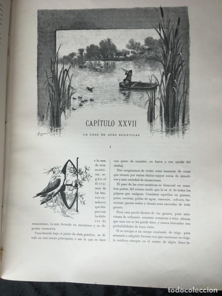 Libros antiguos: LA CAZA EN TODOS LOS PAISES Y A TRAVES DE LOS SIGLOS - CAMPWELL - 1886 - MUY ILUSTRADO - 4 TOMOS - Foto 20 - 155512942