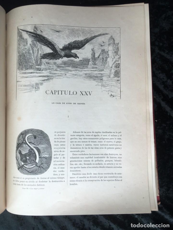 Libros antiguos: LA CAZA EN TODOS LOS PAISES Y A TRAVES DE LOS SIGLOS - CAMPWELL - 1886 - MUY ILUSTRADO - 4 TOMOS - Foto 21 - 155512942