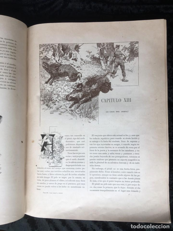 Libros antiguos: LA CAZA EN TODOS LOS PAISES Y A TRAVES DE LOS SIGLOS - CAMPWELL - 1886 - MUY ILUSTRADO - 4 TOMOS - Foto 26 - 155512942