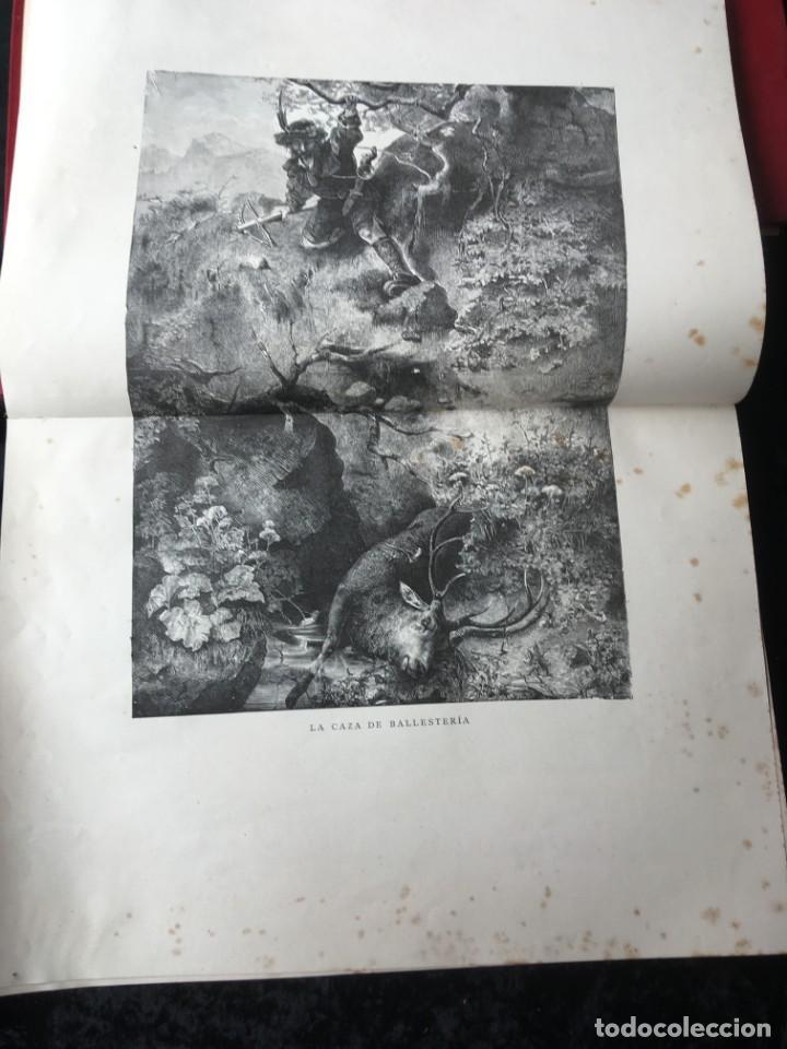 Libros antiguos: LA CAZA EN TODOS LOS PAISES Y A TRAVES DE LOS SIGLOS - CAMPWELL - 1886 - MUY ILUSTRADO - 4 TOMOS - Foto 33 - 155512942