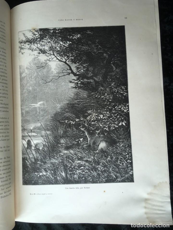 Libros antiguos: LA CAZA EN TODOS LOS PAISES Y A TRAVES DE LOS SIGLOS - CAMPWELL - 1886 - MUY ILUSTRADO - 4 TOMOS - Foto 35 - 155512942