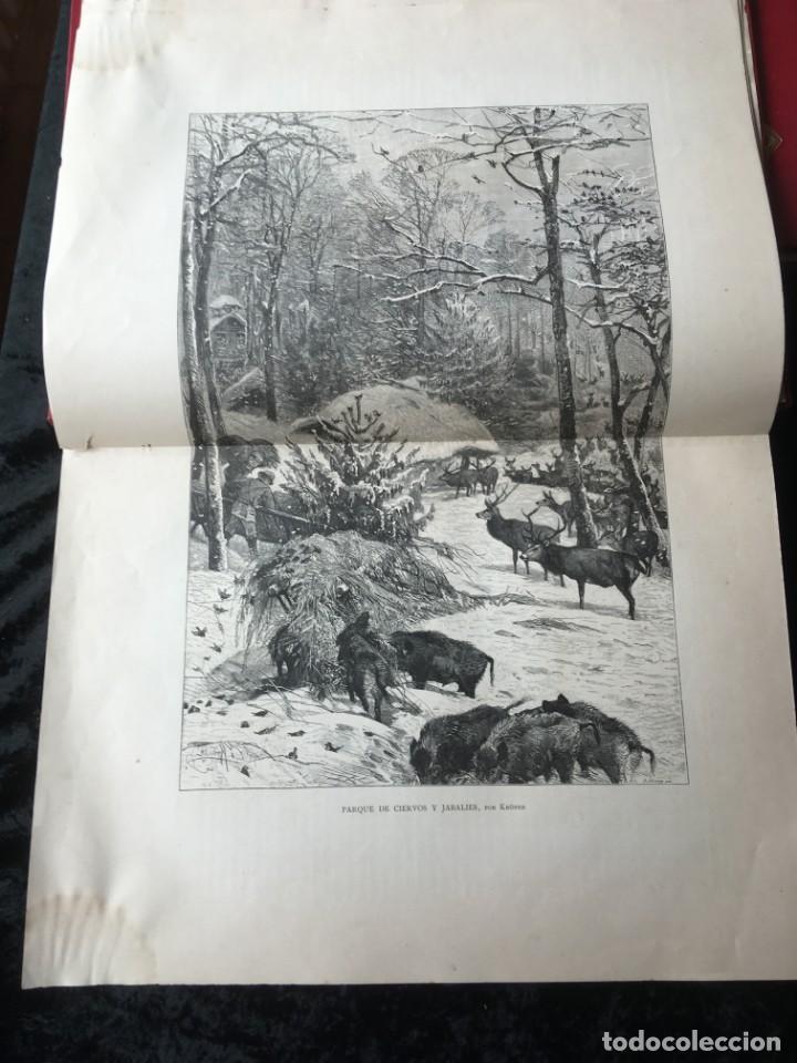 Libros antiguos: LA CAZA EN TODOS LOS PAISES Y A TRAVES DE LOS SIGLOS - CAMPWELL - 1886 - MUY ILUSTRADO - 4 TOMOS - Foto 36 - 155512942