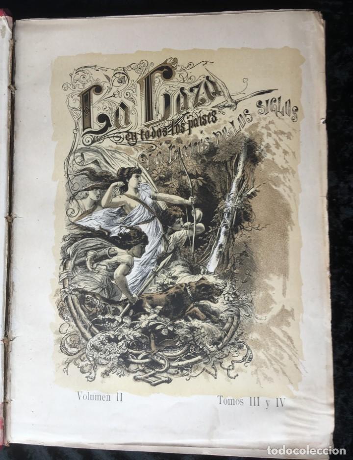 Libros antiguos: LA CAZA EN TODOS LOS PAISES Y A TRAVES DE LOS SIGLOS - CAMPWELL - 1886 - MUY ILUSTRADO - 4 TOMOS - Foto 39 - 155512942