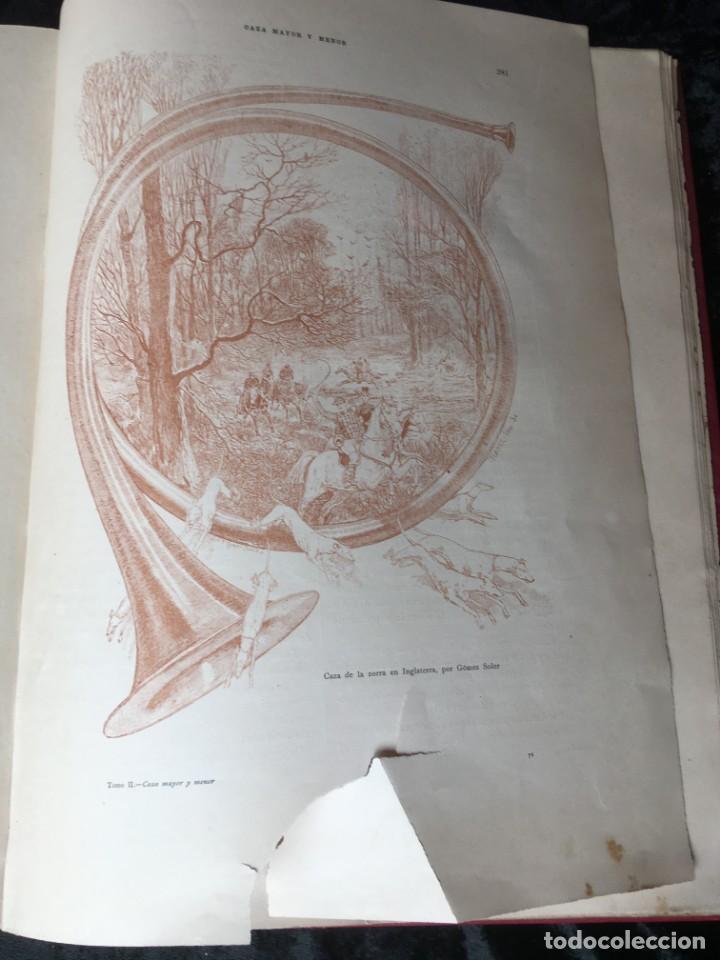 Libros antiguos: LA CAZA EN TODOS LOS PAISES Y A TRAVES DE LOS SIGLOS - CAMPWELL - 1886 - MUY ILUSTRADO - 4 TOMOS - Foto 44 - 155512942