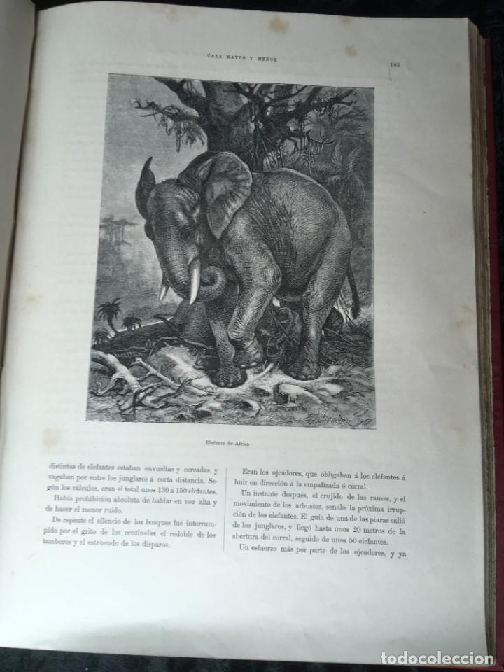 Libros antiguos: LA CAZA EN TODOS LOS PAISES Y A TRAVES DE LOS SIGLOS - CAMPWELL - 1886 - MUY ILUSTRADO - 4 TOMOS - Foto 58 - 155512942