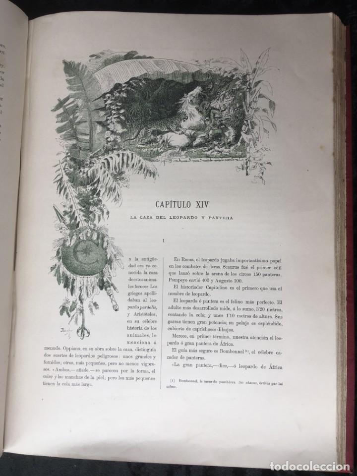 Libros antiguos: LA CAZA EN TODOS LOS PAISES Y A TRAVES DE LOS SIGLOS - CAMPWELL - 1886 - MUY ILUSTRADO - 4 TOMOS - Foto 59 - 155512942