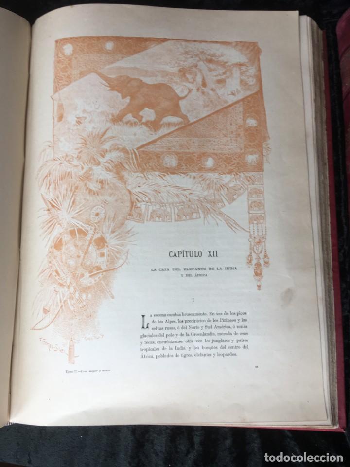 Libros antiguos: LA CAZA EN TODOS LOS PAISES Y A TRAVES DE LOS SIGLOS - CAMPWELL - 1886 - MUY ILUSTRADO - 4 TOMOS - Foto 60 - 155512942