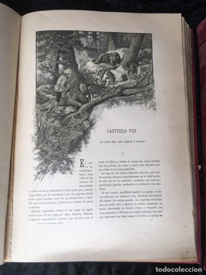 Libros antiguos: LA CAZA EN TODOS LOS PAISES Y A TRAVES DE LOS SIGLOS - CAMPWELL - 1886 - MUY ILUSTRADO - 4 TOMOS - Foto 64 - 155512942