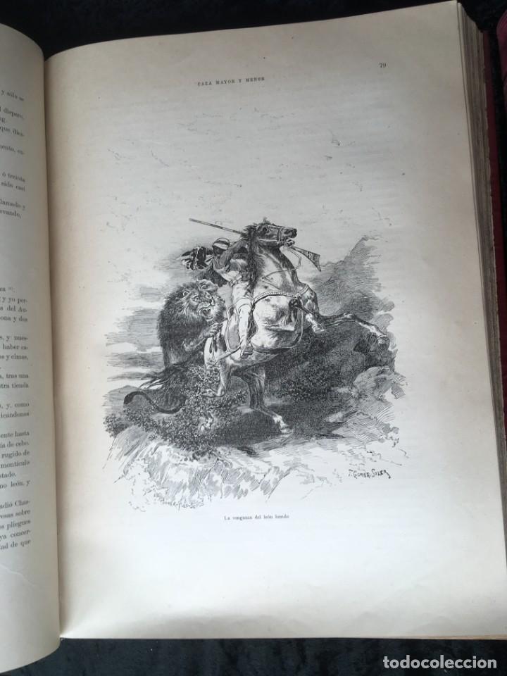 Libros antiguos: LA CAZA EN TODOS LOS PAISES Y A TRAVES DE LOS SIGLOS - CAMPWELL - 1886 - MUY ILUSTRADO - 4 TOMOS - Foto 65 - 155512942