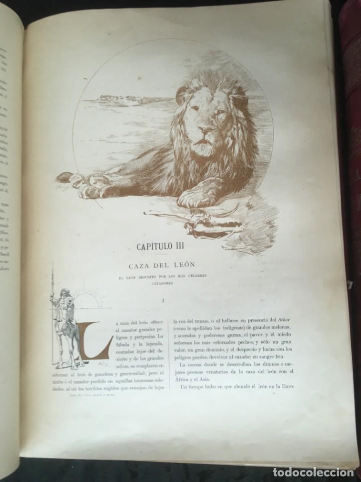 Libros antiguos: LA CAZA EN TODOS LOS PAISES Y A TRAVES DE LOS SIGLOS - CAMPWELL - 1886 - MUY ILUSTRADO - 4 TOMOS - Foto 68 - 155512942